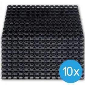 10 Ringmatten - 80 x 120 cm