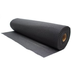Antislipmat - Zwart - 60 x 1000 cm - Voor o.a. werkbanken en lades
