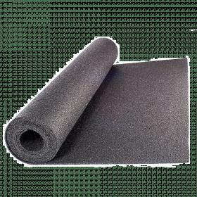 Beschermmat *standaard* - rol van 12,5 m2 - Dikte 15 mm - Zwart granulaat
