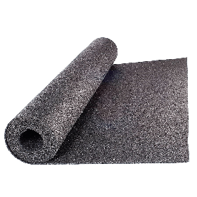 Beschermmat *standaard* - rol van 12,5 m2 - Dikte 8 mm - Rubber granulaat *OUTLET*
