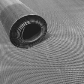 NBR rubber op rol grijs