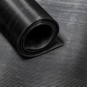 rubber op rol fijnrib 140 cm