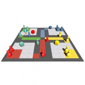 vloerspel bordspel levensgroot