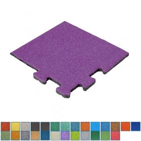 hoekstuk rubber epdm tegel in RAL kleuren - 25 mm