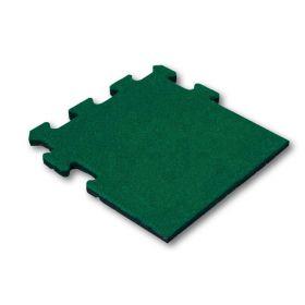 rubberen puzzeltegel groen