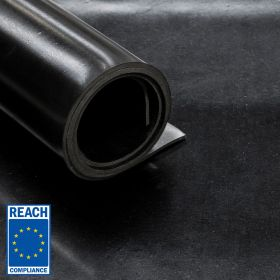 rubberplaat REACH conform NBR rubber