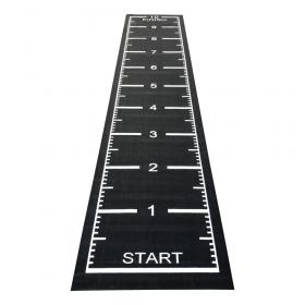 sprinttrack zwart 10m