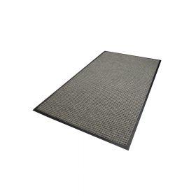 Waterhog Classic droogloopmat / schoonloopmat 90x150 cm - Rubber border - Grijs