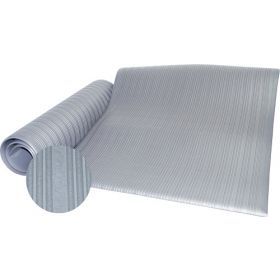 werkplaatsmat op rol grijs rubber