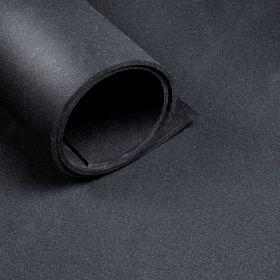 Sportvloer *Premium* - Rol van 25 m2 - Dikte 5 mm - Zwart