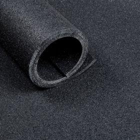 Sportvloer - Mat van 2 m2 - Dikte 10 mm - Asfaltlook zwart