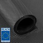 rubber op rol piramide profiel grijs REACH