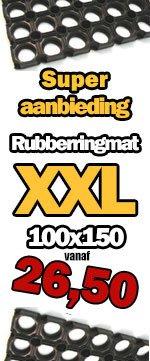 Rubbermatten aanbieding